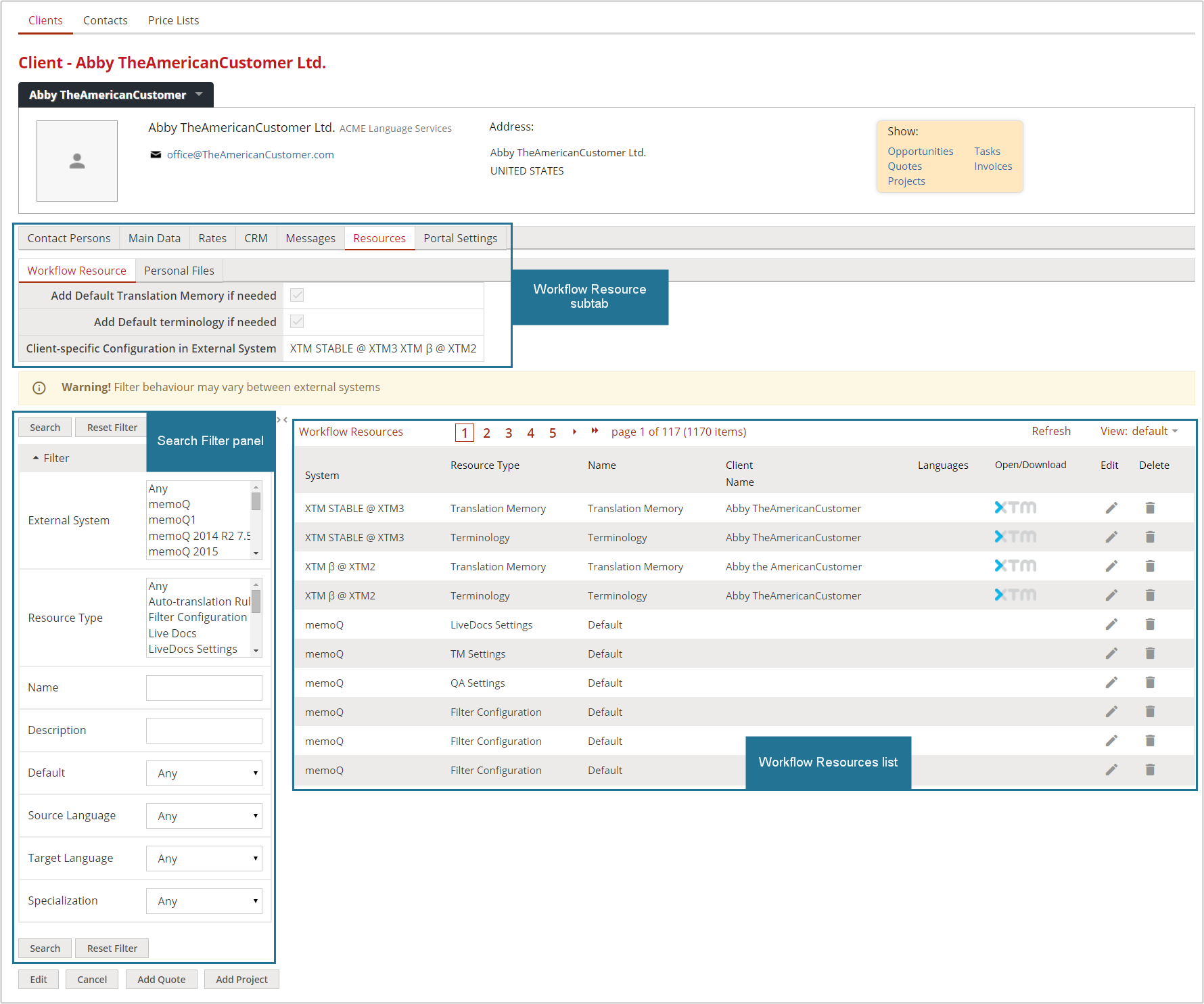 4.10 The Home Portal: Workflow Resource - Resources - Clients ...